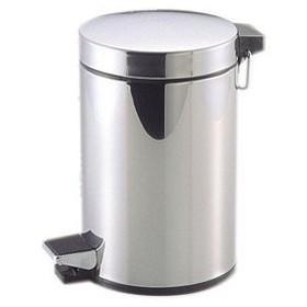 パール金属 カリス2 ステンレス製ペダルペール3L [ ペダルで開閉 ゴミ箱 中子付 ] 掃除道具 掃除用具 清掃用具 清掃用品