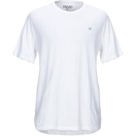 《期間限定セール開催中!》LIU JO MAN メンズ T シャツ ホワイト S コットン 100%