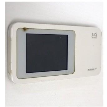 【中古】HUAWEI UQ WiMAX Speed Wi-Fi NEXT W01 ホワイト 本体いたみ