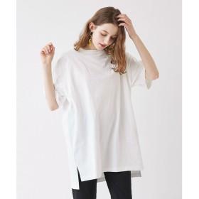 ティティベイト titivate オーバーサイズコットンTシャツ (オフホワイト)