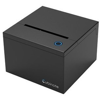 NOERDEN WiFi & Bluetooth対応 付箋プリンター Cubinote PRO Black CG180B(Bla