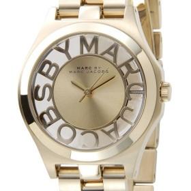 マークバイ・マークジェイコブス 腕時計 MBM3292 HENRY ヘンリー スケルトン ゴールド レディース ブランド