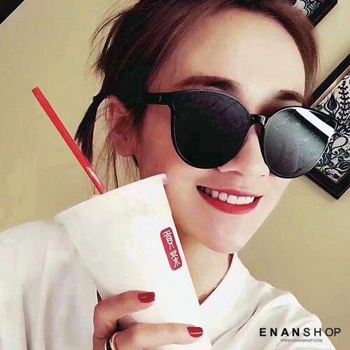 惡南宅急店【0051M】范冰冰同款墨鏡 黑色太陽眼鏡 韓風歐美風 復古墨鏡 墨鏡 太陽眼鏡