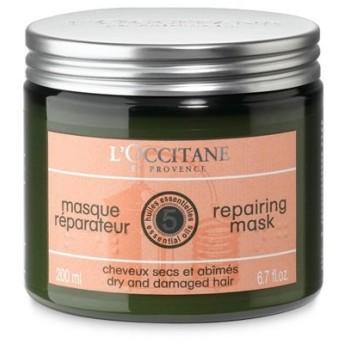 ロクシタン ファイブハーブス リペアリング ヘアマスク 200ml L'OCCITANE (ヘアケア/リンス/トリートメント) (香水/コスメ)