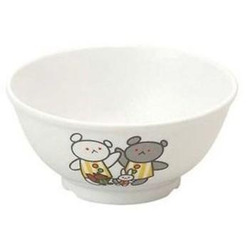 メラミン子供食器 こぐまちゃん 飯茶碗 小 J30KO【 和・洋・中 食器 】