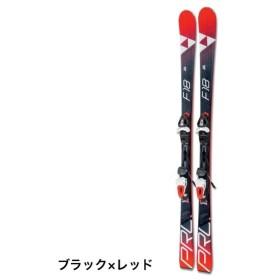 フィッシャー スキー 板 PROGRESSOR F18 AR (FIS+プログレッサF18) ブラック×レッド  金具付 【取付無料】