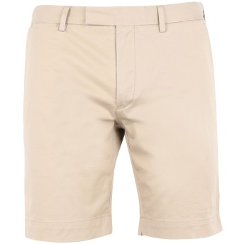 《期間限定セール開催中!》POLO RALPH LAUREN メンズ バミューダパンツ サンド 34 コットン 97% / ポリウレタン 3% Stretch Military Short