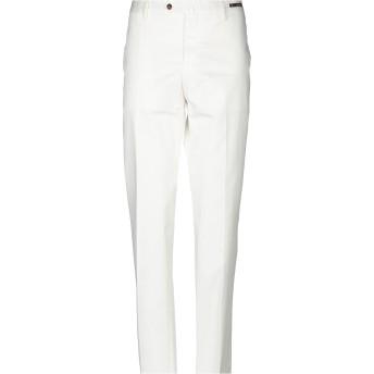 《9/20まで! 限定セール開催中》PT01 ANTIBES メンズ パンツ ホワイト 58 コットン 98% / ポリウレタン 2%
