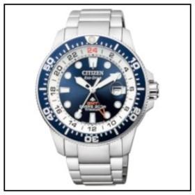 4e862d4db8 チズン プロマスター MARINE GMTダイバー ソーラー 時計 メンズ 腕時計 BJ7111-86L