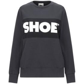 《セール開催中》SHOESHINE レディース スウェットシャツ スチールグレー XS コットン 95% / ポリウレタン 5%