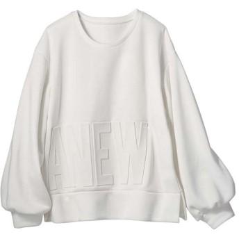 [マルイ] 【2019秋冬新着】エンボスロゴスウェットトレーナー/ジーラ バイ リュリュ(ファッション)(GeeRA (fashion))