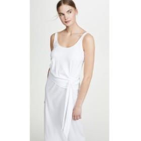 ヴィンス Vince レディース ワンピース ワンピース・ドレス Sleeveless Wrap Dress Off White