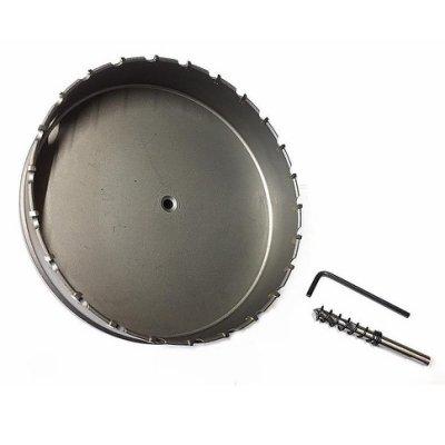 日本 超硬鎢 鋼圓穴鑽( 130mm ) 白鐵 不銹鋼 圓穴鋸 鑽尾 鑽頭 洗孔鑽頭 崁燈