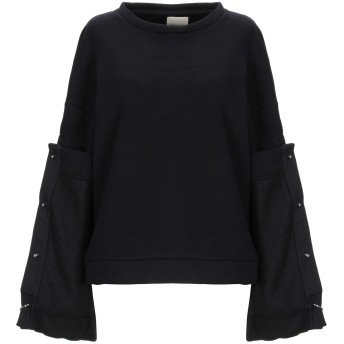 《セール開催中》KENGSTAR レディース スウェットシャツ ブラック XS 65% コットン 35% ポリエステル