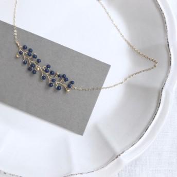 kinomi vintage navyblue / necklace