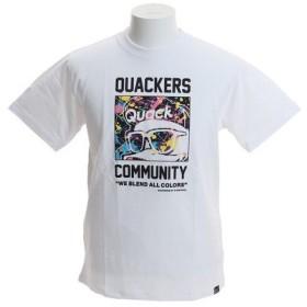B ONE SOUL 【オンライン特価】 DUCK DUDE フレームスプラッシュTシャツ 9570060-WHT (Men's)