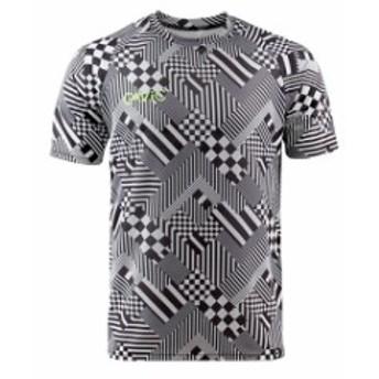 【ガビック/GAVIC】 サッカー フットサル トレーニングウェア プラクティスシャツ 半袖 プラシャツ ブラック 昇華 吸汗速乾 GA8091-BLK