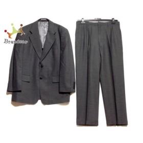 ゴタイリク 五大陸/gotairiku シングルスーツ サイズ4L メンズ ダークグレー 肩パッド   スペシャル特価 20190925