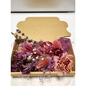 くすみピンク&パープル*ハーバリウム花材ドライフラワー 花材セット