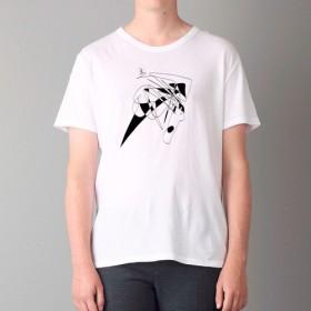 Tシャツ Line Art011(TRUSS ヘビーウェイトTシャツで)