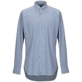 《期間限定セール開催中!》BAGUTTA メンズ シャツ ブルー 40 コットン 100%