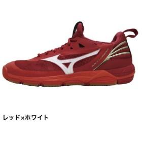ミズノ ウエーブルミナス (V1GA182) バレーボール シューズ 限定カラー : レッド×ホワイト MIZUNO