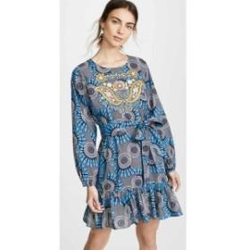 フィグ Figue レディース ワンピース ワンピース・ドレス Clementine Dress Moon Floral