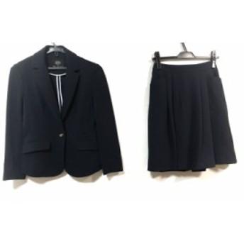 クリアインプレッション CLEAR IMPRESSION スカートスーツ サイズ1 S レディース 美品 ダークネイビー【中古】