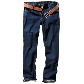ストレッチ5ポケットジーンズ(選べる3レングス) ストレートジーンズ(デニム)