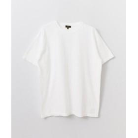 (URBAN RESEARCH/アーバンリサーチ)FREEMANS SPORTING CLUB Garment Dyed T-SHIRTS/メンズ WHITE