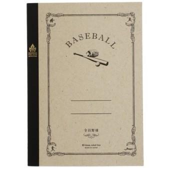 サンスター文具 みんなの部活ノート 野球 S2618281 (Men's、Lady's、Jr)