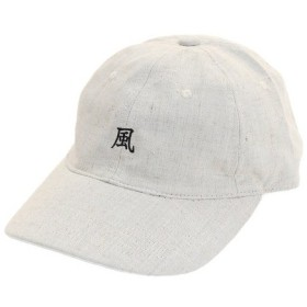 PGAC(PGAC) 風 リネン刺繍キャップ 897PA9ST1709 BEG (Men's)