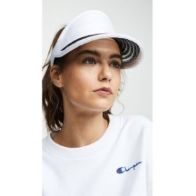 ユージニア キム Eugenia Kim レディース サンバイザー 帽子 Vicky Visor White/Black