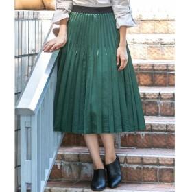 Ketty Cherie / ケティ シェリー アンティークサテンプリーツスカート