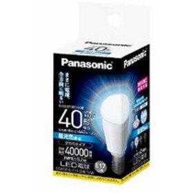 LED電球 電球40W形相当 密閉形器具対応 E17口金 昼光色相当 5.2W 小型電球・全方向タイプ[LDA5DGE17Z40SW](昼光色, 1個)