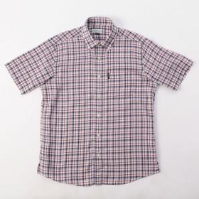 【在庫限り】エレメントオブシンプルライフ メンズ ドビーボイルチェックシャツ