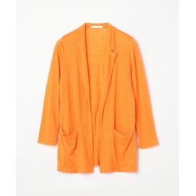 トゥモローランド リネンジャージー オープンフロントジャケット レディース 25イエロー S(9号) 【TOMORROWLAND】