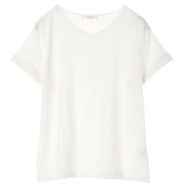 グリーンパークス Green Parks VネックTシャツ (Off White)
