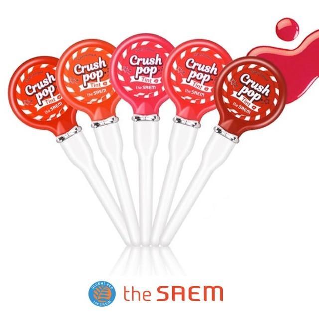 【The SAEM】ザセム セムムル クラッシュ ポップ ティント Saemmul Crush Pop Tint