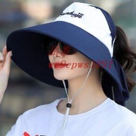 つば広帽子 サファリハット レディース 農作業 紫外線対策 サンバイザー アウトドア キャップ UVカット 通気性 遮光 ハット 日焼け止め