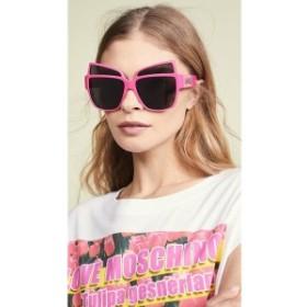 モスキーノ Moschino レディース メガネ・サングラス Oversized Acetate Sunglasses Fuschia