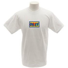 【Super Sports XEBIO & mall店:トップス】TRANSPARENT OBEY Tシャツ 163081904WHT19P
