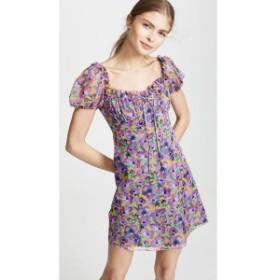 ラケル ジニス Raquel Diniz レディース ワンピース ワンピース・ドレス Alice Mini Dress Violet Rose