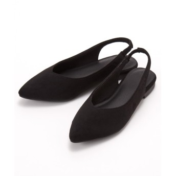 Vカットバックストラップパンプス パンプス, Pumps, 浅口皮鞋, 淺口皮鞋