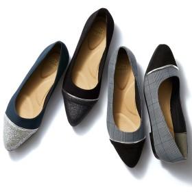GeeRA 切替ローヒールパンプス S レディース 5,000円(税抜)以上購入で送料無料 パンプス 夏 レディースファッション アパレル 通販 大きいサイズ コーデ 安い おしゃれ お洒落 20代 30代 40代 50代 女性 靴 シューズ