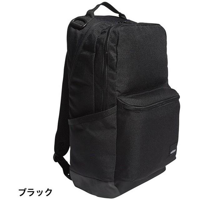 アディダス シティスクエアバックパック (DM5642) 31L デイパック リュック : ブラック adidas