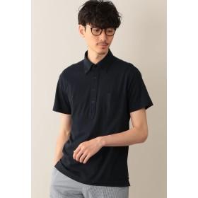 MACKINTOSH PHILOSOPHY サーフニット ボタンダウンポロシャツ ポロシャツ,ネイビー