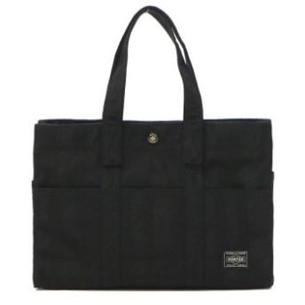 (GALLERIA/ギャレリア)吉田カバン ポーター PORTER TANGO BLACK タンゴブラック TOTE BAG(S) トートバッグ 638-07168/ユニセックス ブラック 送料無料