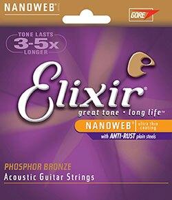 烏克時代~ ELIXIR 吉他弦 NANOWEB 磷青銅 .010~.047