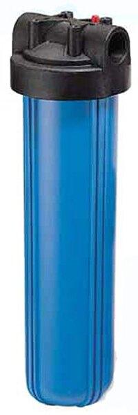 """20""""1""""大胖藍色濾殼 過濾器/淨水器適用"""